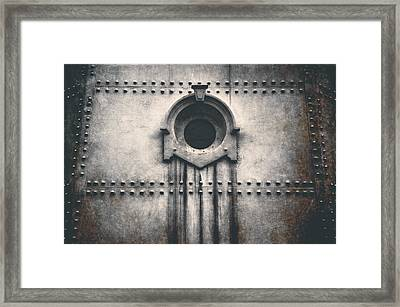 Rivets And Rust Framed Print