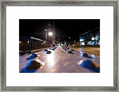 Rivets Framed Print