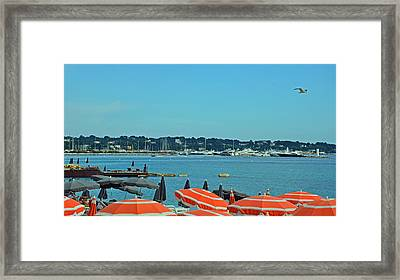 Riviera Style Framed Print by Corinne Rhode