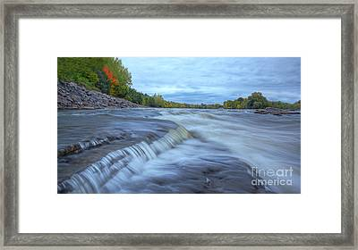 Riviere Des Prairies Panorama Framed Print by Mircea Costina Photography