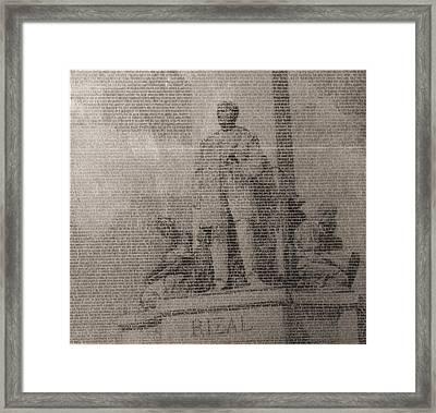 Rizal 1966-67- Full Yashicad Neg Framed Print