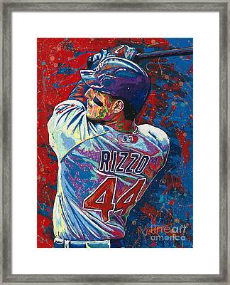 Rizzo Swings Framed Print