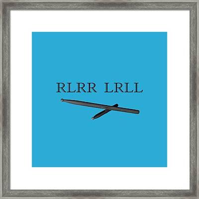 Rlrr Lrll Framed Print by M K  Miller