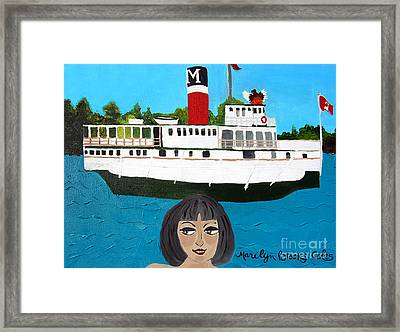 R.m.s. Segwun - With Phoenix Framed Print