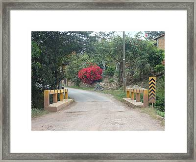 Road 1 Framed Print