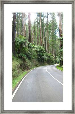Road 2 Framed Print