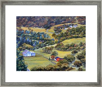 Road 200 Framed Print