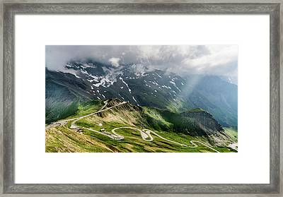 Road Austria Framed Print