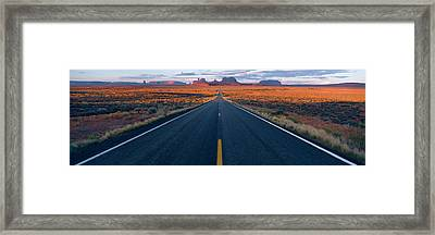Road Az Framed Print by Panoramic Images