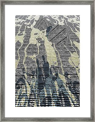 Road Framed Print by Haruo Obana