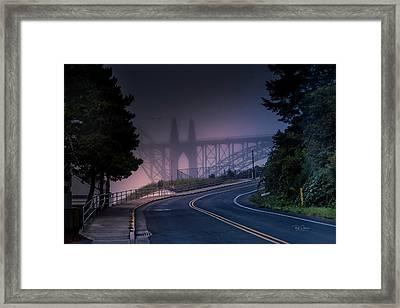 Road Home Framed Print