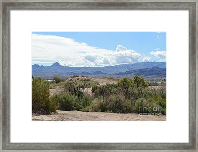 Road Less Traveled Framed Print by Renie Rutten