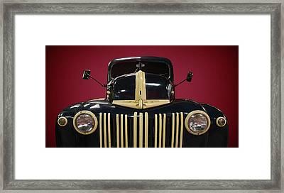 Road Locomotive Framed Print