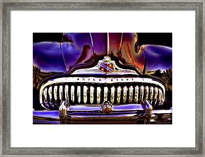 Road Master Framed Print by Jerry Golab