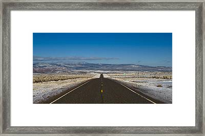 Road Nm 96 Framed Print