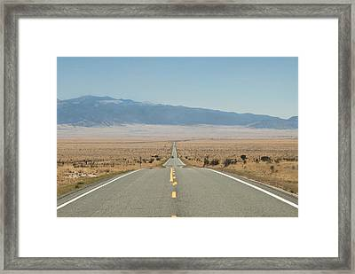 Road Nm Framed Print