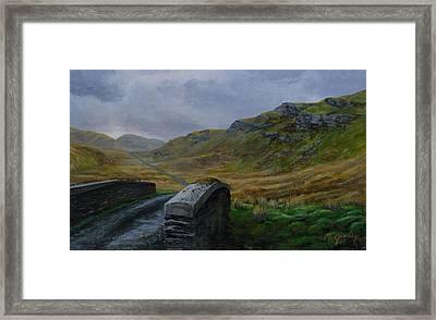 Road Over Donegal Bridge Framed Print