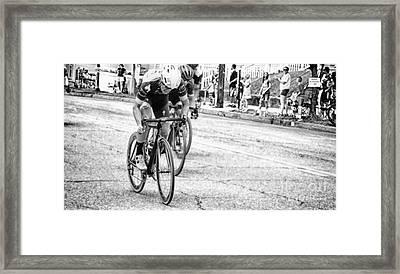 Road Rage  Framed Print by Steven Digman