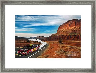 Road Runner Framed Print