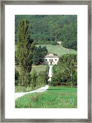 Road To A Country Mansion II Framed Print