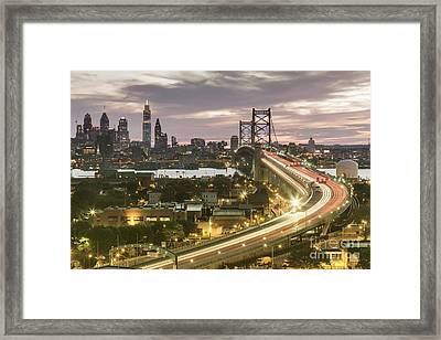 Road To Brotherly Love Framed Print