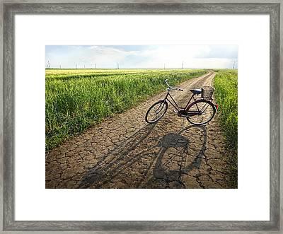 Road To Childhood Framed Print by Krasimir Tolev