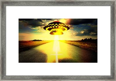 Road To Damascus By Raphael Terra Framed Print