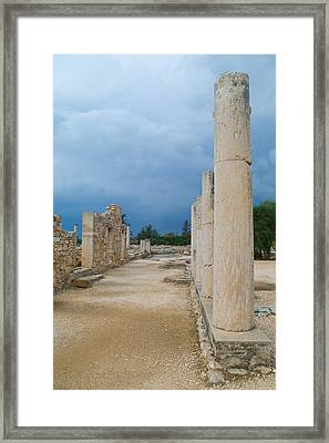 Road To Empire  Framed Print