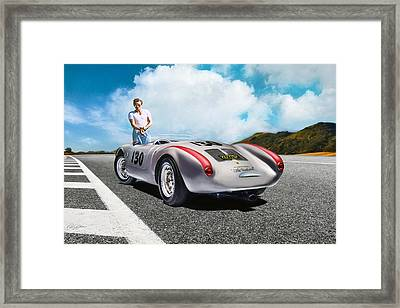Road To Eternity Framed Print by Peter Chilelli
