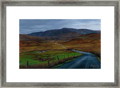 Road To Glenveagh Framed Print