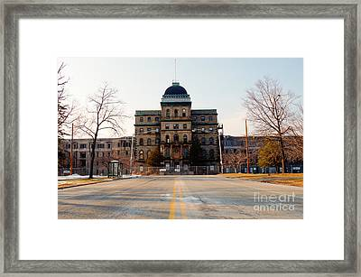 Road To Greystone  Framed Print by Jeffrey Miklush