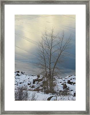 Road To Horsetooth 1 Framed Print by Diane M Dittus