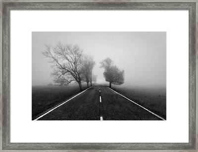 Road To Infinity Framed Print by Fran Osuna
