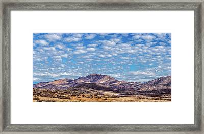 Road To Lake Skinner Framed Print by Peter Tellone