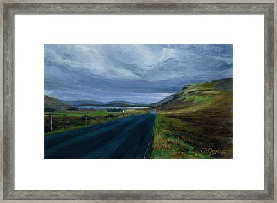 Road To Lough Barra Donegal Framed Print