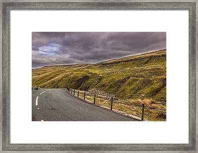 Road To No Where Framed Print by David Warrington