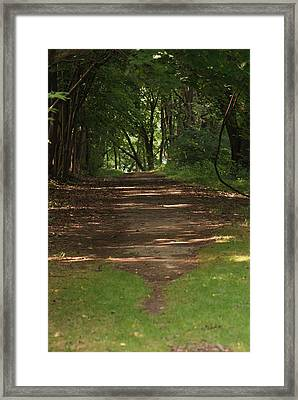 Road To Nowhere Framed Print by Heather Green