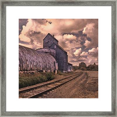 Road To Nowhere Framed Print by Jeff Burgess