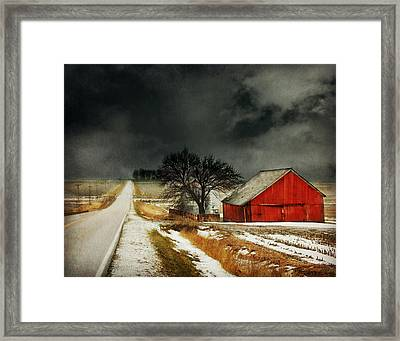 Road To Nowhere Framed Print by Julie Hamilton