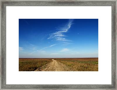 Road To Nowhere Framed Print by Michael Knight