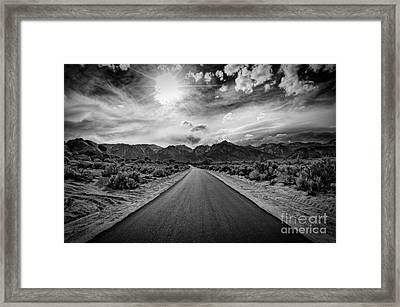 Road To Oblivion Framed Print