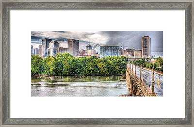 Road To Richmond Framed Print