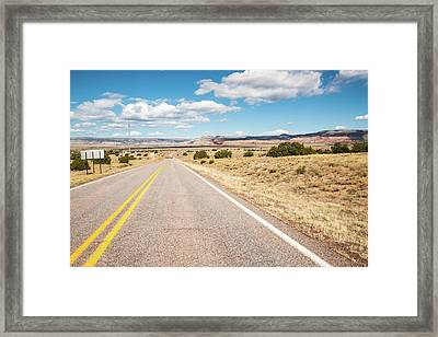Road To San Ysidro Framed Print