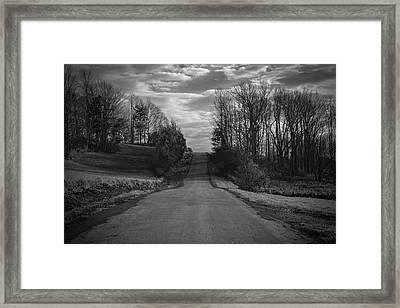 Road To Success Framed Print by Stefanie Silva