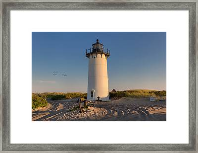 Road To The Beach Framed Print