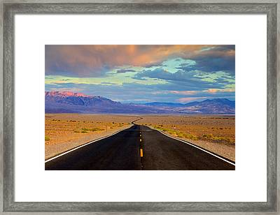 Road To The Dreams Framed Print