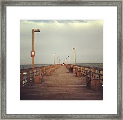 Road To The Ocean  Framed Print by Nick  Peterson