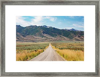 Road To The Rubies Framed Print by Todd Klassy