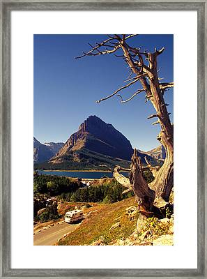 Framed Print featuring the photograph Road To The Sun by Carl Purcell