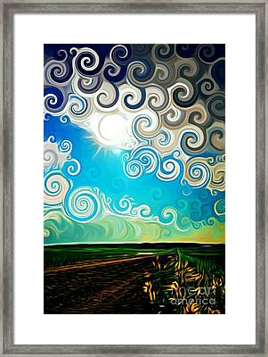 Road To Whimsy Framed Print